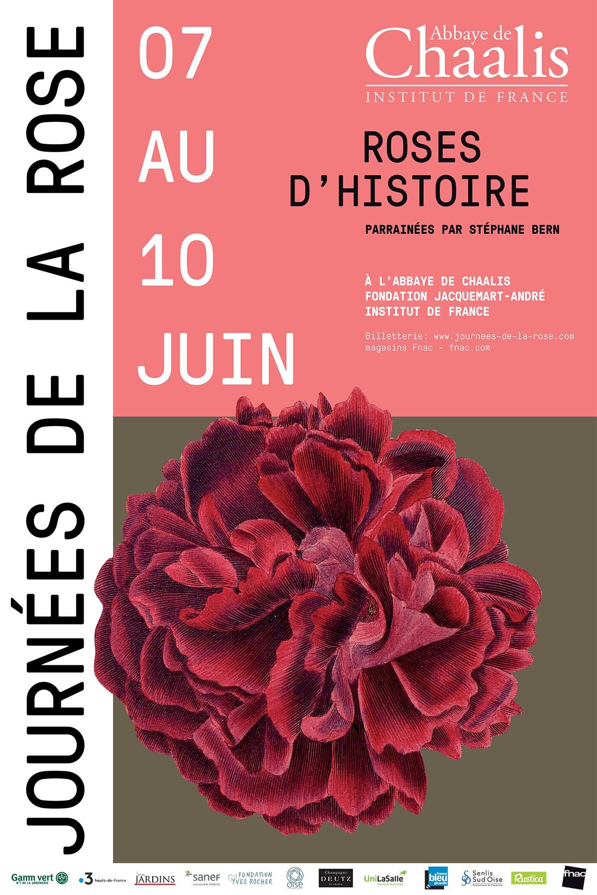 Flyer Journées de la Rose 2017